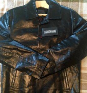 Куртка кожаная мужская. НОВАЯ.