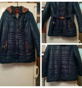 Куртка на синтепоне 52-54 размера