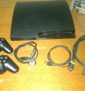 СРОЧНО ПРОДАЮ!!! Sony pleystation 3 Slim 360 гб
