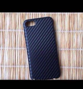 """Чехол """" Carbon """" для iPhone 7"""