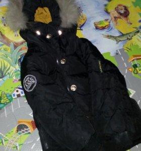 Теплая хорошая куртка
