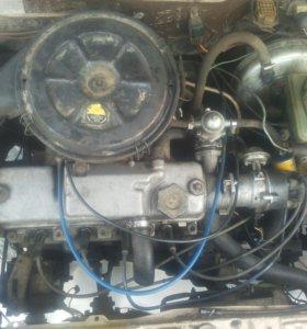 Двигатель и кпп ваз 2109
