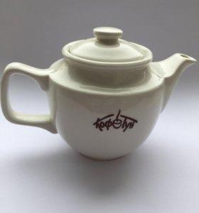 Чайник заварочный. Фарфор.