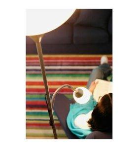 Торшер с лампой для чтения икеа