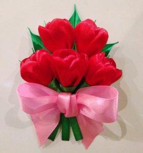 Букет тюльпанов- магнит