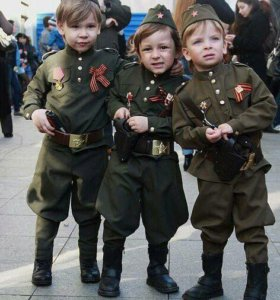 Солдатская форма детская