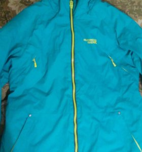 Куртка спортивная зима р. 52-54.