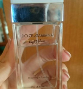 "Духи Dolce & Gabbana ""Light Blue""."