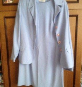 Костюм (пиджак и платье)
