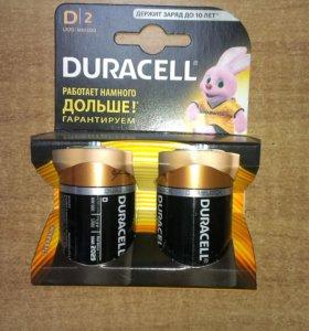 Батарейки Duracell D2