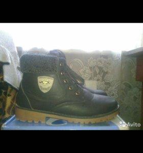 Продам женские ботинки, зима 39 р. Не скользят