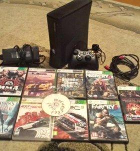 Xbox 360 + 11 игр