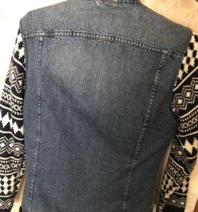 Джинсовая куртка 👍🏽BERSHKA