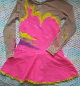 Платье-купальник для гимнастики