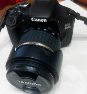 Canon 600d tamron 17-50 f2,8