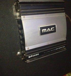 Автомобильный усилитель Mac Audio 2000