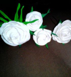 На заказ!!!Розы на шпильках!!!
