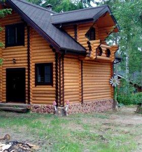 Строим дома из бруса,бревна
