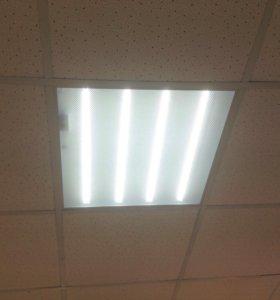 Светодиодный светильник 36Вт 600х600мм