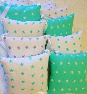 Продам новые бортики подушка