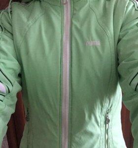 Демисезонная куртка puma оригинал 42-44