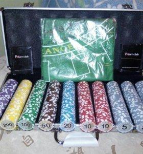 Покер в кейсе, 500 фишек