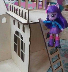Кукольный домик разборный