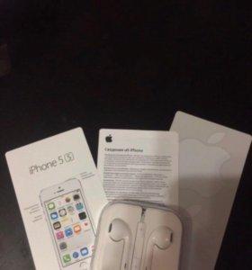iPhone 5s Полный комплект. Все оригинальное.
