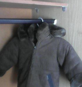 Дубленка на мальчика 2-х лет