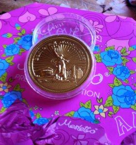 Продам сувенирную монету
