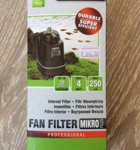 Фильтр для очистки и аэрации воды в аквариуме