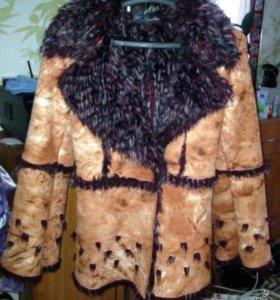 Куртка- дубленка