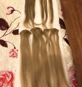 Искусственные волосы без блеска под натуральные