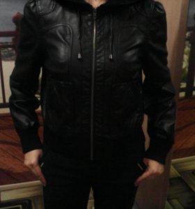 Кожа куртка