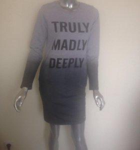 Новое спортивное платье рр 42