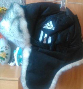 шапка теплая