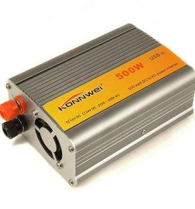 Инвертор напряжения с 12 на 220 вольт