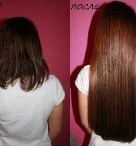 Коррекция и наращивание волос
