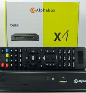 Ресивер Hd Alphabox x4