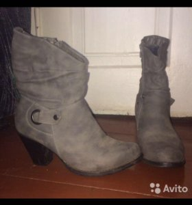 Зимние ботинки 39р-р