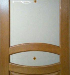 Дверь межкомнатная шпонированная