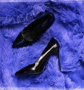 Туфли лаковые 36.37