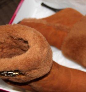 Зимние сапоги, размер 39
