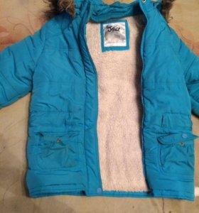 Куртка на рост 140