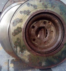 Тормозные диски на мерс221