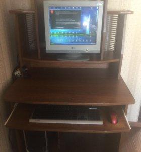 Домашний стационарный компьютер + стол