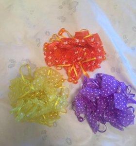 Новые резиночки для волос