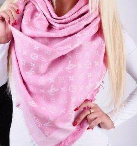 Новый палантин Louis Vuitton lv розовый