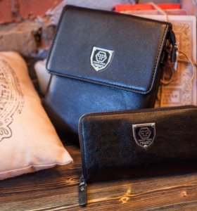 Philipp Plein Комплект сумка + портмоне