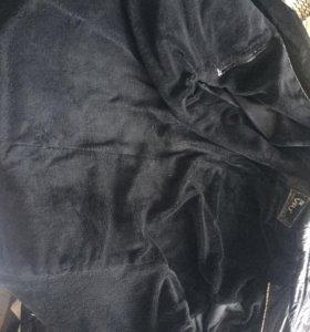 Мужское Утеплённое пальто (плащ)